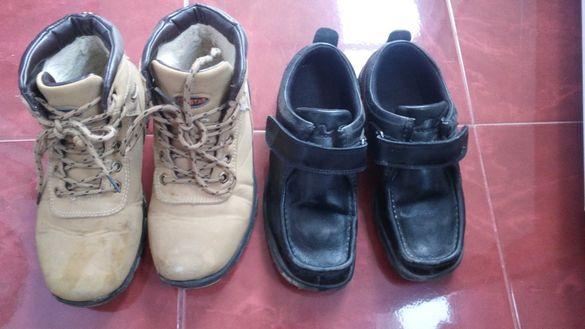 Обувки и боти 37н. 2бр за 18лв