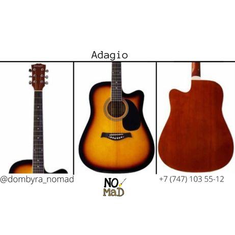 Акустическая гитара 41 / Adagio / Сделано из Ель, Красного дерево!