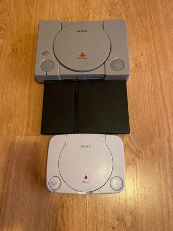PS ONE + PS 1 clasic + PS2 + 8 manete