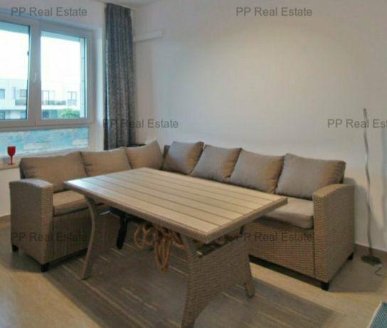 Set ratan 2 canapele cu masa pentru exterior ,perne si saltele incluse