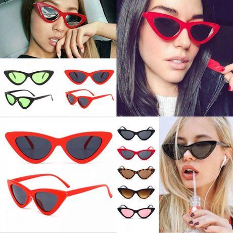 Ochelari de soara 2018 Vintige style stil Vogue superbi rosii negri