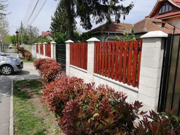 Boltari beton gard - Nu necesita tencuiala - pavele-garduri.ro