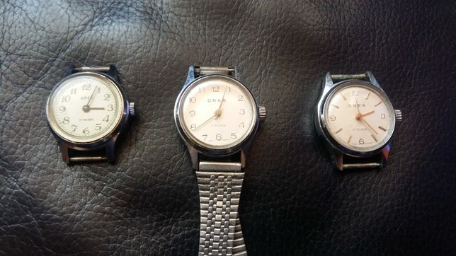 Ceasuri Orex si Optimef