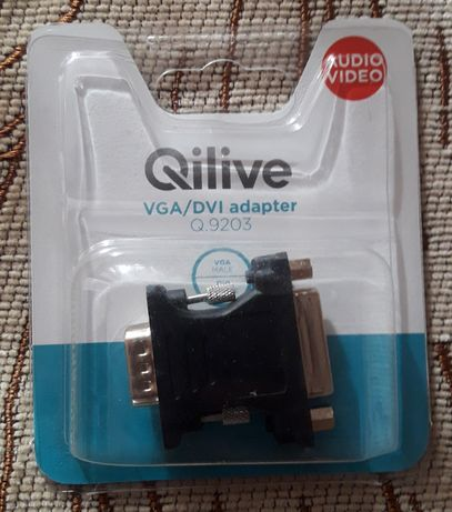 Adaptor nou VGA-DVI Qilive Q9203