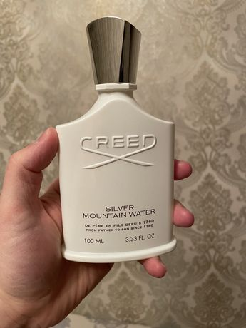 Creed water mountain silver