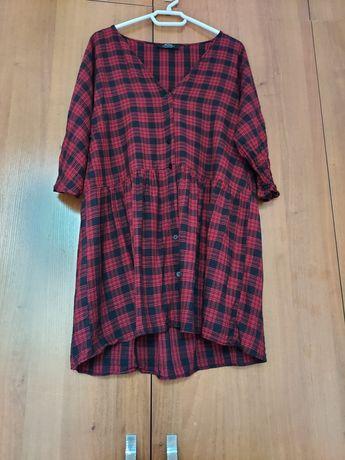 Платье-рубашка размер S Bershka