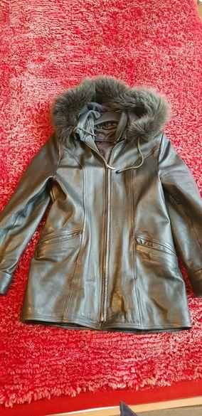 Дамско манто/палто/шуба от естествена кожа
