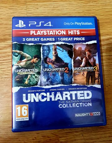 Uncharted colection ps4