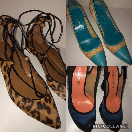 Обувки Prada, Aquazzura Firenze, Philosophy Di Alberta Ferretti