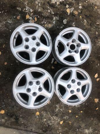 Оригинальные диски Toyota 5*114.3  R14