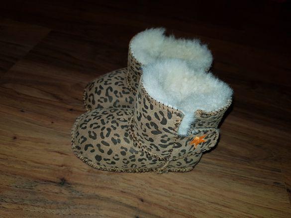 Топли пантофки за бебе