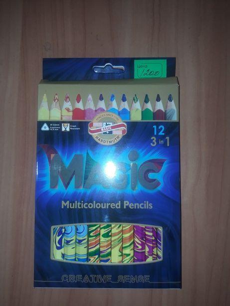 Цветные карандаши Magik.