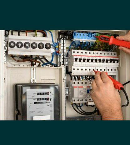 Электрик вызов любое время. Весь спектр услуг.