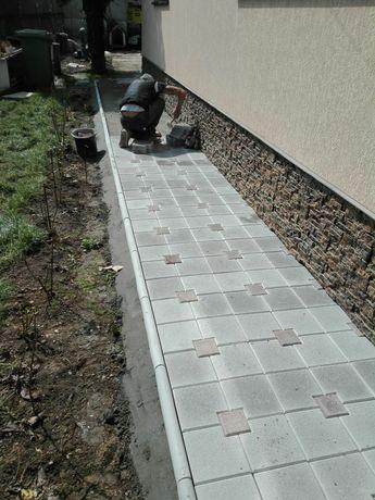 Producător pavaje si pavele din beton pentru casa si gradina. Montaj