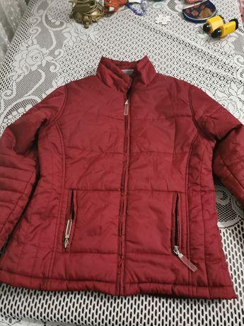 Дамско яке червено