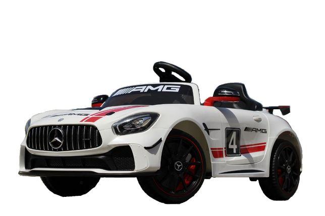 Masinuta electrica Kinderauto Mercedes GT-R 2x25W STANDARD #Alb