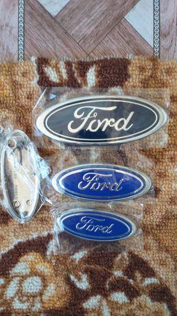 Предна и задна емблема за форд и с механизам за капака