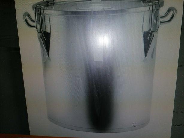 Oală catering inox (Cazan), 92 litri, capac ermetic