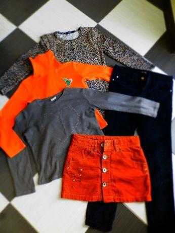 цената е обща:панталон, пола и блуза zara, блуза benetton+подарък!