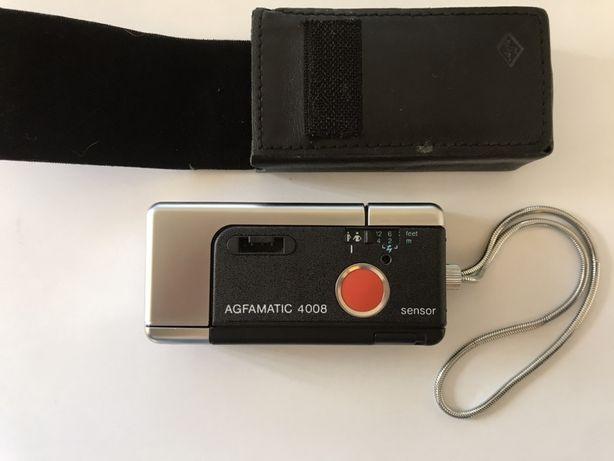 AGFAMATIC Pocket 4008 aparat foto de buzunar impecabil husa agfa