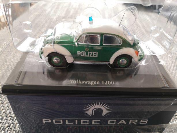 Se vinde machetă, jucărie mașină de politie vw 120