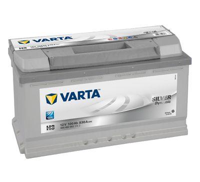Baterie Auto Varta SILVER DYNAMIC 12V 100AH, 830A