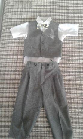 Детски официален костюм за момче 3г