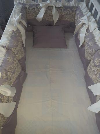 Детская кровать + бортики