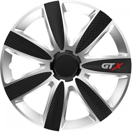 Тасове за джанти 15' Versaco Carbon GTX - Black / Silver. Тасове с