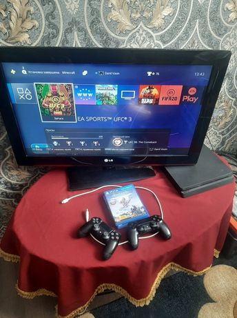 PS4 + Телевизор LG