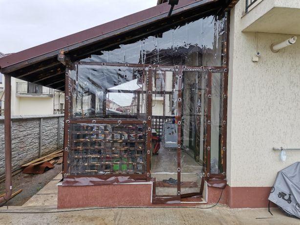 Inchideri terase cu transparent !
