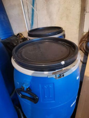 Butoaie de 60 litri cu capac și cerc