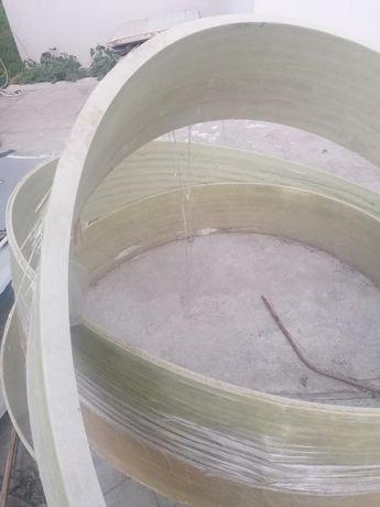 Vând tub fibră sticlă pentru fosă