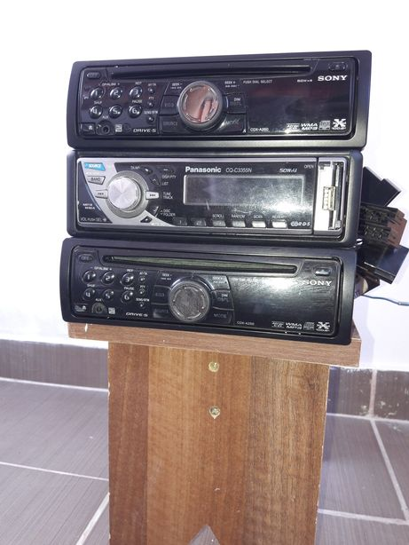 Cd player auto, SONY&PANASONIC