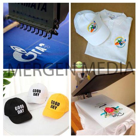 Печать на ткани| Шелкография |Футболках| Бейсболках| Нанесение логотип