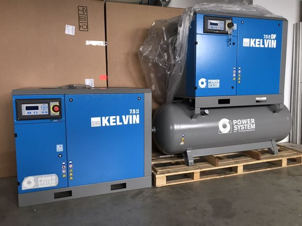 Compresor Surub Kelvin Nou 13bar