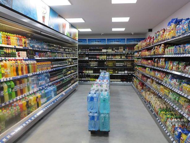 Rafturi neutre magazin alimentar si supermarket - diverse utilizari