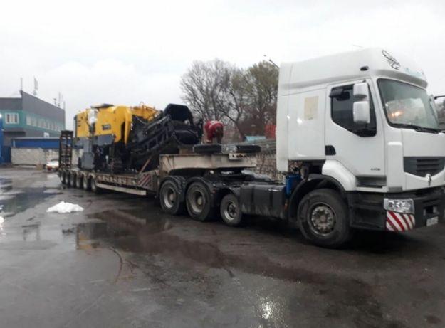 Трал, перевозка контейнеров 20- 40 тон, услуги трала, экскаватор.