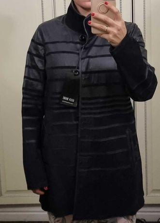 Куртка кожаная двусторонняя