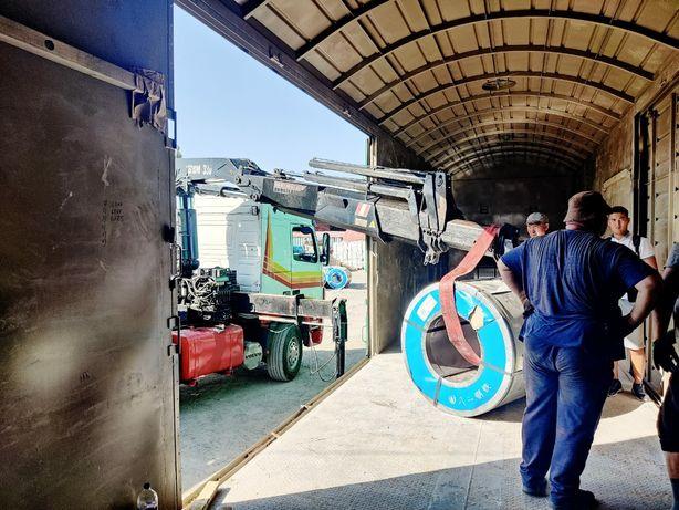 Услуги манипулятора, перевозка контейнеров