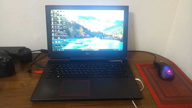 Мощный ноутбук для работы и игр Dell G5 5587