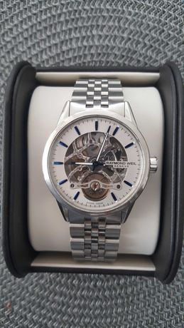 Оригинален мъжки часовник Raymond Weil Freelancer Skeleton 42mm