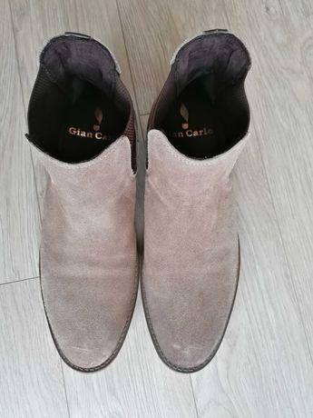 Мъжки обувки естествен велур, номер 42