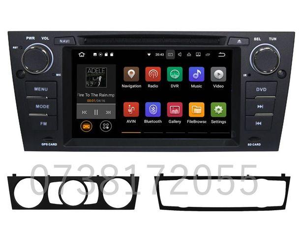 Navigatie GPS Android BMW Seria 3 E90 E91 E92 DVD MP3 Wi-Fi 4G