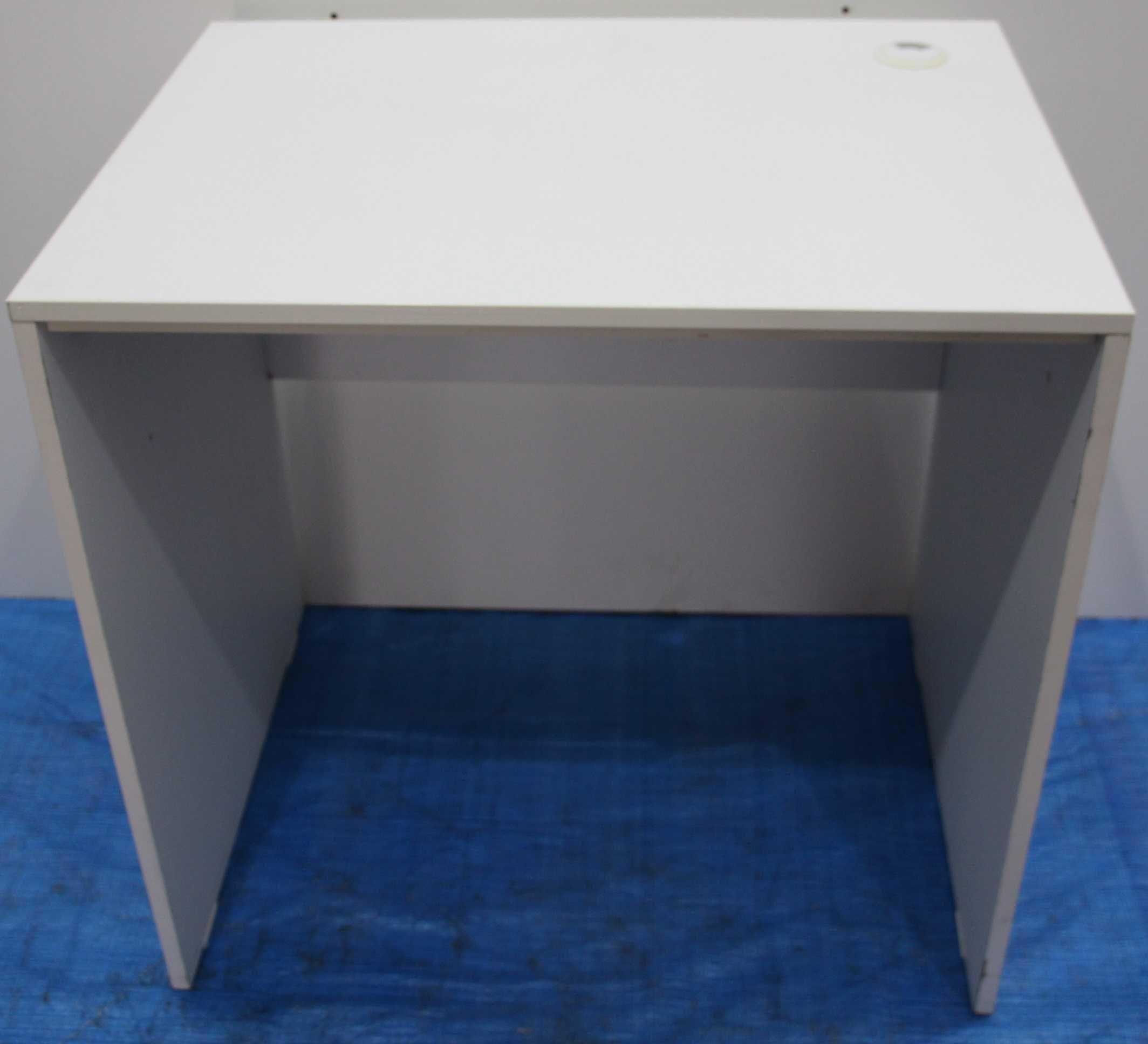 Masa de birou cu blat solid; Birou cu blat de lucru 80x60 cm