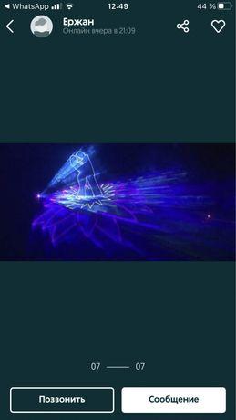 Лазерный проектор, лазерное шоу