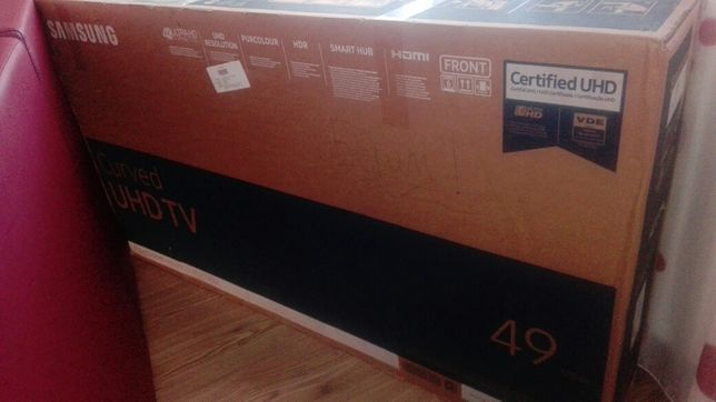 "Vand Televizor UHD 4K Curbat Smart SAMSUNG UE49MU6202K,123 cm 49"""