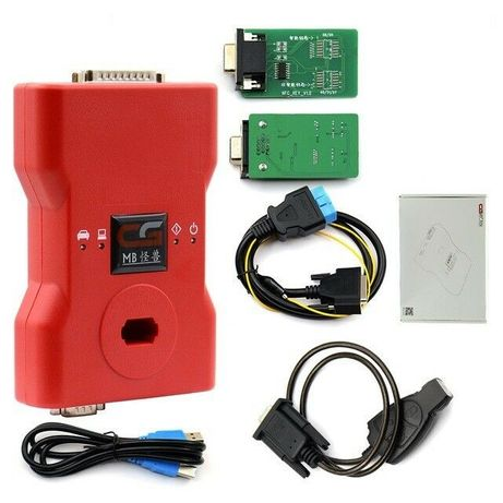 CGDI MB Prog Benz - suport all key lost - all functions activated