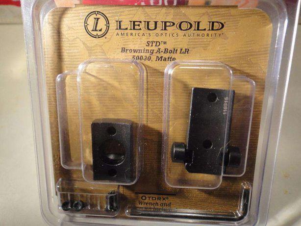 Leupold, baza si inele luneta pentru arma Browning A-Bolt LA si Sako-A