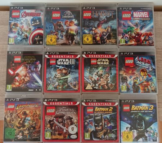 < PS3 Kids > LEGO / Ben10 / Sonic / Terraria / MARVEL за PlayStation 3